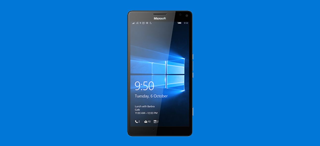 So aktualisieren Sie Ihr Windows Phone jetzt auf Windows 10