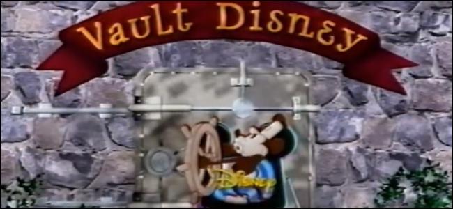"""Ein Rahmen der """"Disney-Tresor"""" Eröffnungssequenz von """"Die Magie von Walt Disney World."""""""