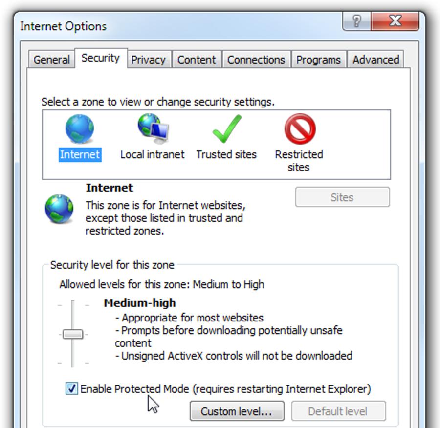 Schützen Sie sich vor der neuesten Sicherheitslücke im Internet Explorer