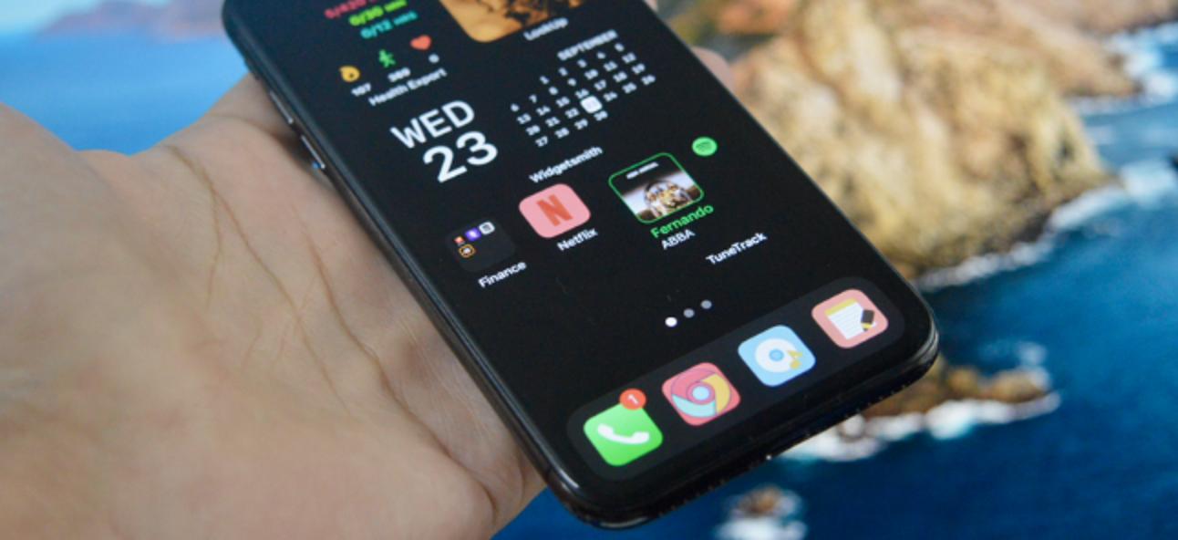 So passen Sie Ihren iPhone-Startbildschirm mit Widgets und Symbolen an