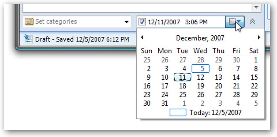 Zukünftiges Datum eines Beitrags in Windows Live Writer