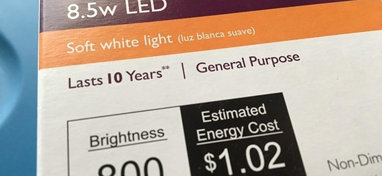 Halten LED-Glühbirnen wirklich 10 Jahre?