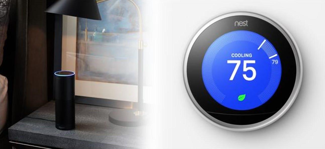So steuern Sie Ihren Nest Learning Thermostat mit Alexa