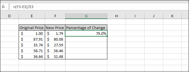 Formatiert als Prozent mit einer Dezimalstelle