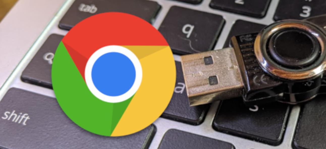So kopieren Sie Dateien auf ein USB-Flash-Laufwerk auf einem Chromebook