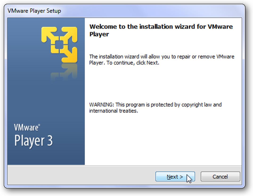 So führen Sie Ubuntu in Windows 7 mit VMware Player aus