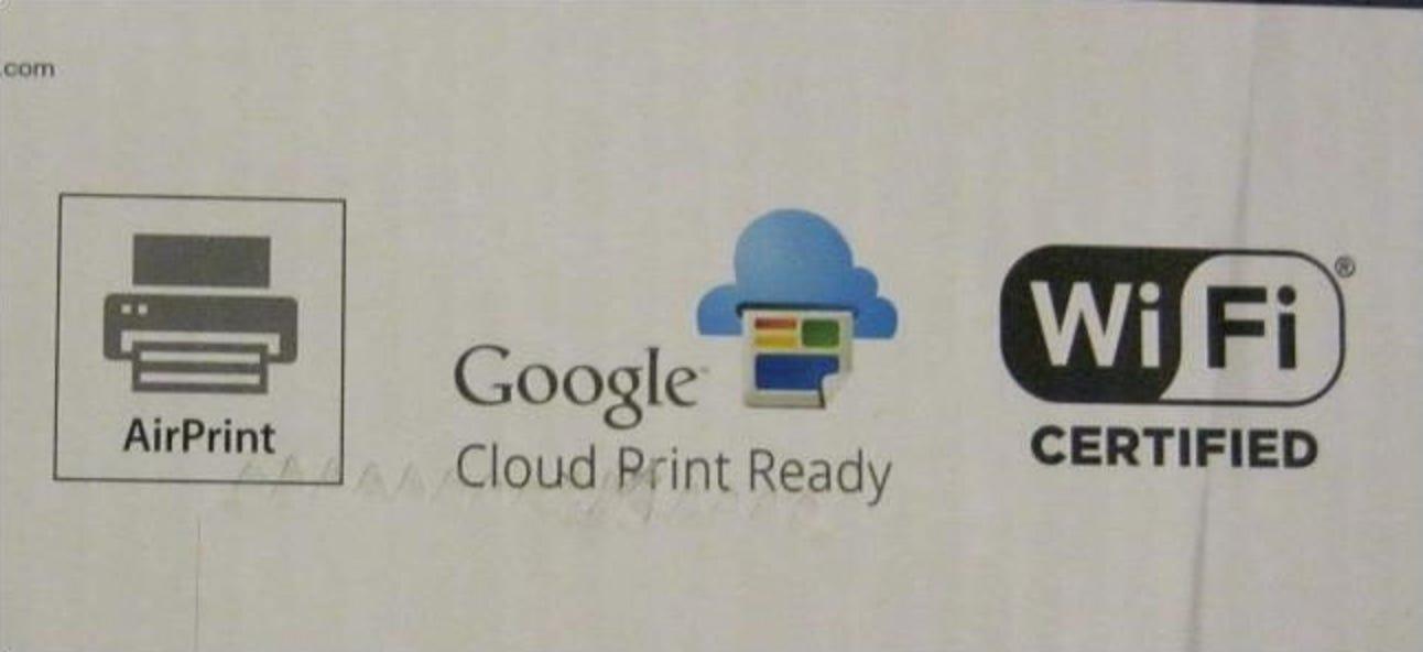 AirPrint, Google Cloud Print, iPrint, ePrint und mehr