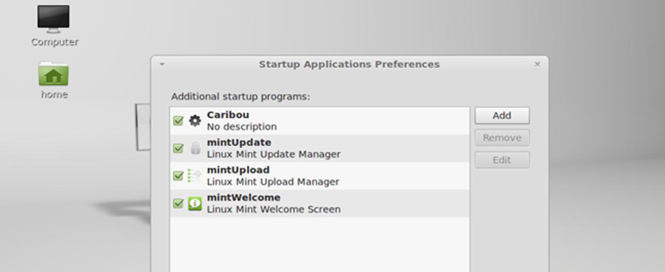So starten Sie Programme automatisch in Linux Mint 12