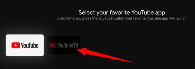 Wähle die YouTube-App aus, der du die Schaltfläche zuordnen möchtest
