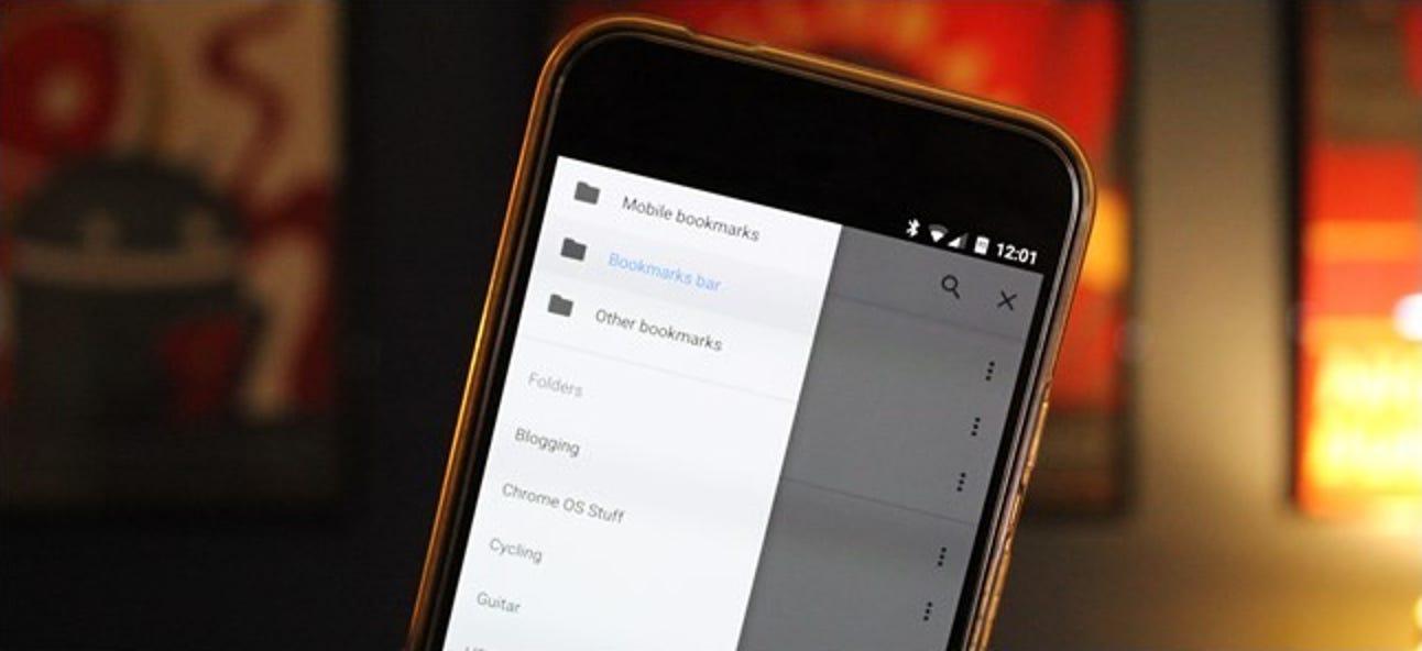 So synchronisieren Sie die Lesezeichen von Google Chrome mit Ihrem Telefon