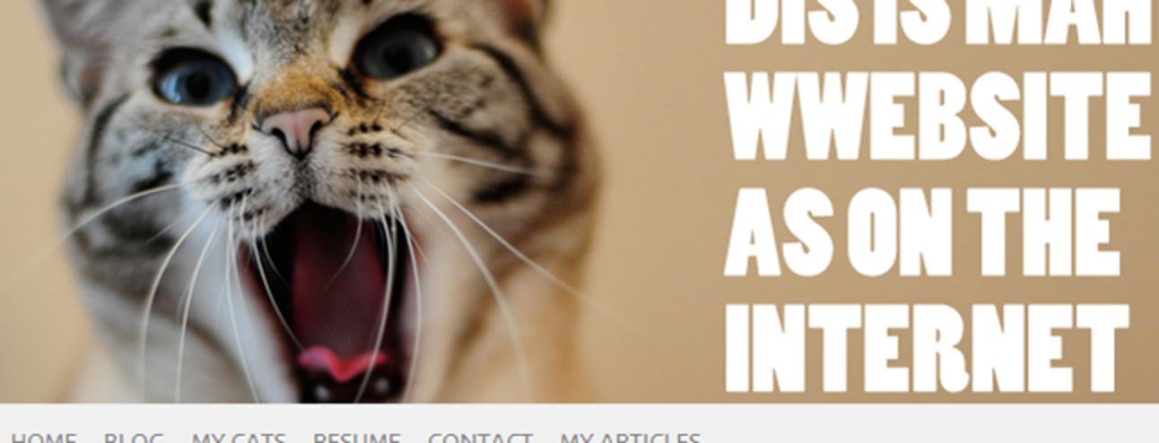 So besitzen Sie eine eigene Website (auch wenn Sie keine erstellen können) Pt 3