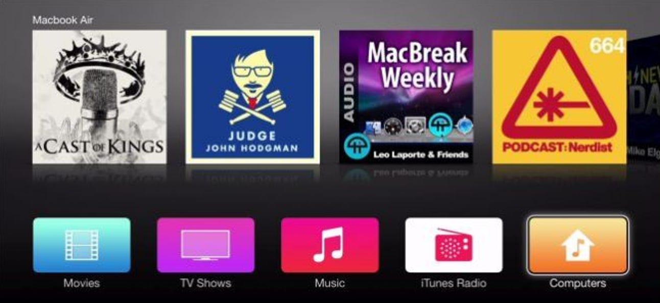 So richten Sie Apple TV ein, um Ihre persönliche iTunes-Mediathek abzuspielen