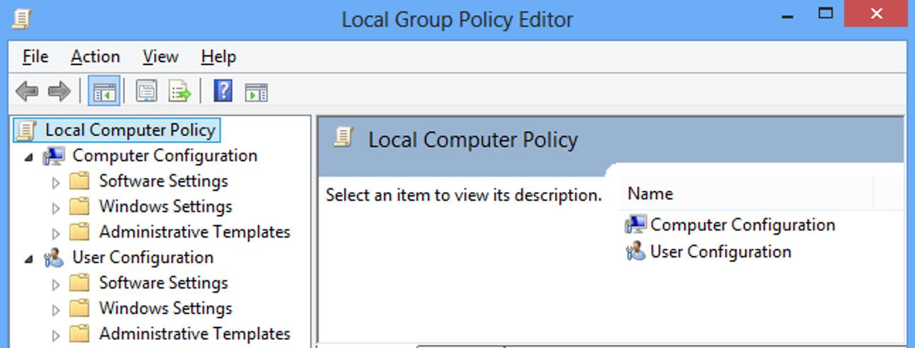 Die 10 besten Optimierungen des Gruppenrichtlinien-Editors für Windows 8