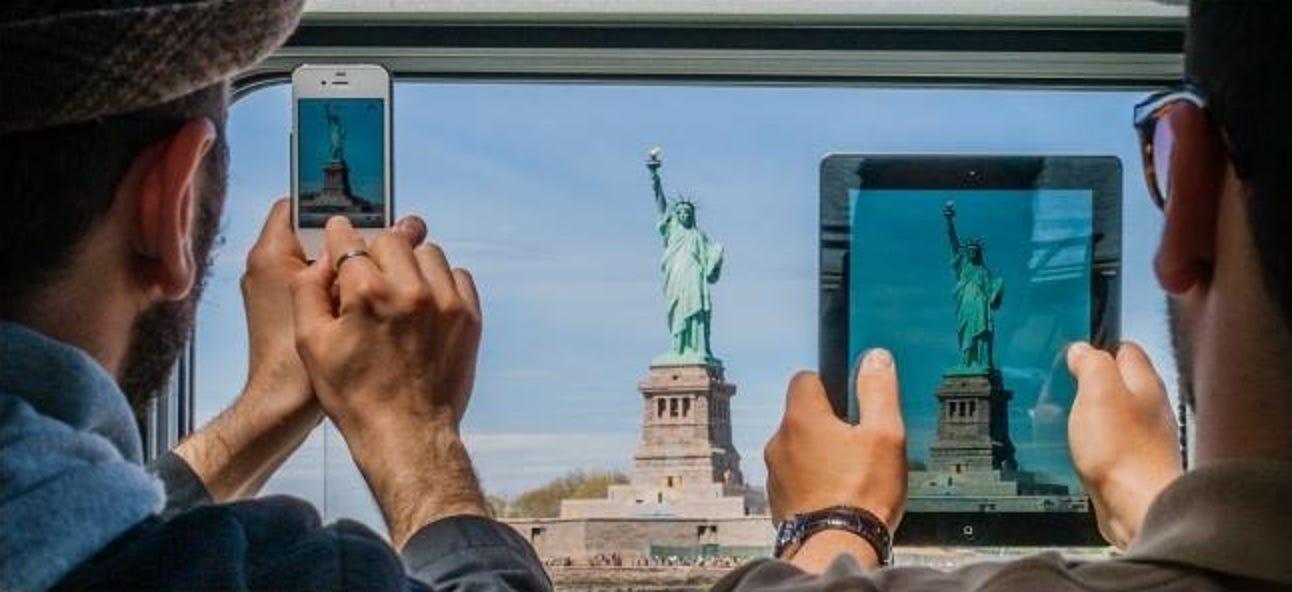 Aufnehmen von Fotos mit einem iPad oder einem anderen Tablet: Lächerlich oder intelligent?