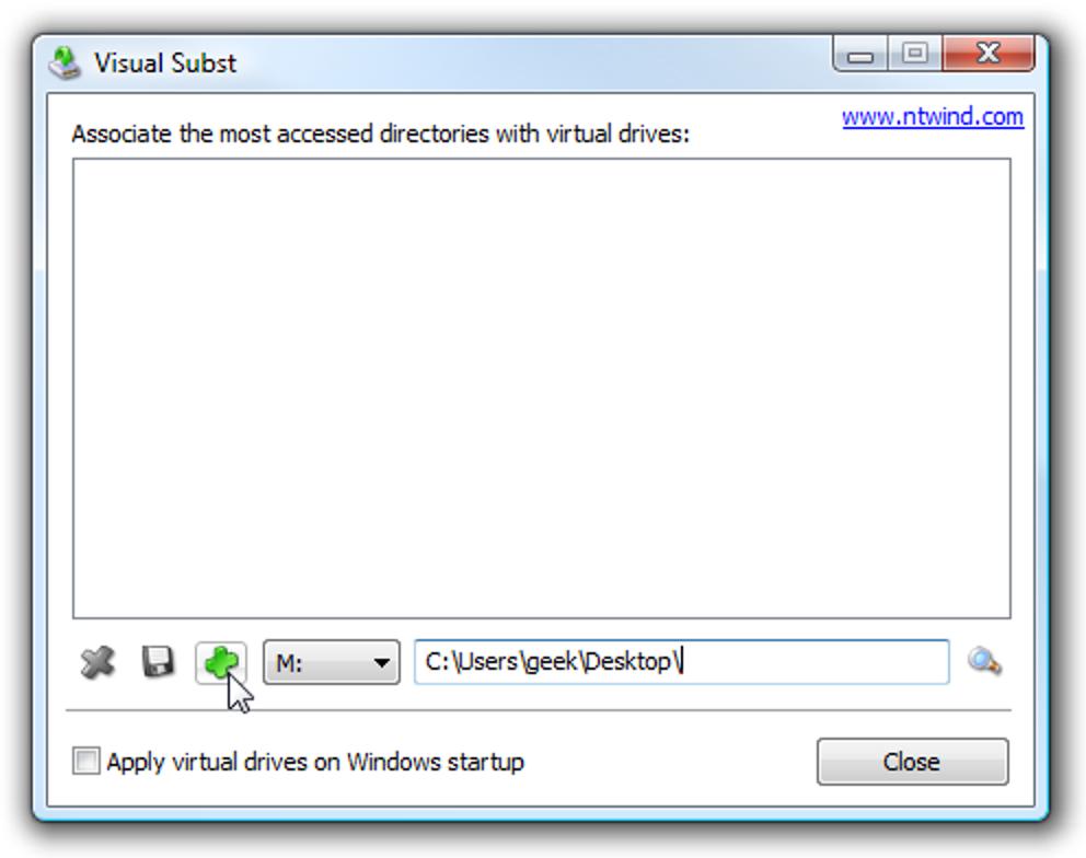 Ordnen Sie in Windows auf einfache Weise einen Laufwerksbuchstaben einem Ordner zu