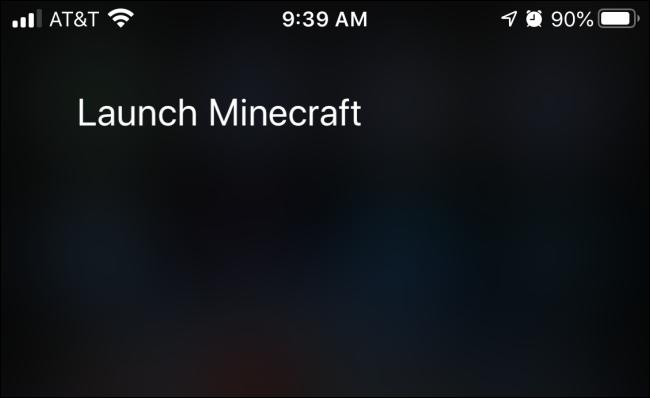 Verwenden von Siri-Sprachbefehlen zum Starten einer App