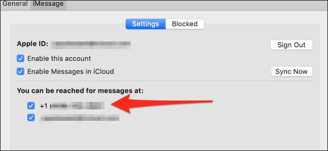 Nachrichteneinstellungen unter macOS