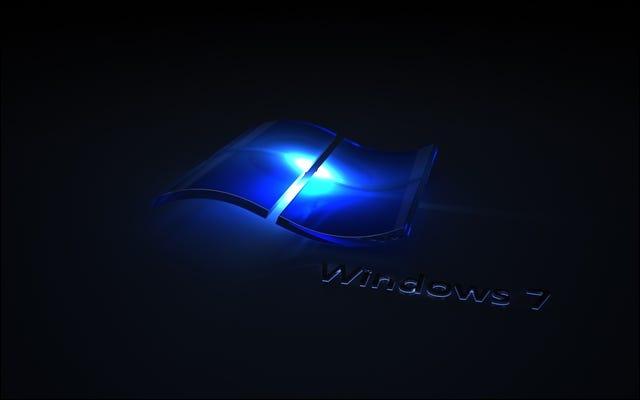 Windows 7 Blaue Welle