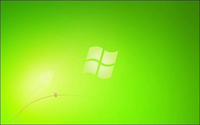 Windows 7 Grüner Starter