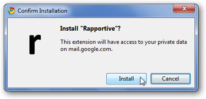 Fügen Sie mit Rapportive soziale Elemente zu Ihren Google Mail-Kontakten hinzu