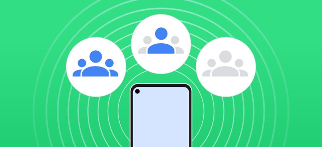 So ändern Sie die Sichtbarkeit von Geräten in der Nähe auf Android