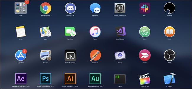 macOS-Launchpad