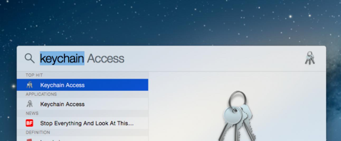 So stellen Sie ein vergessenes WLAN-Passwort in OS X wieder her