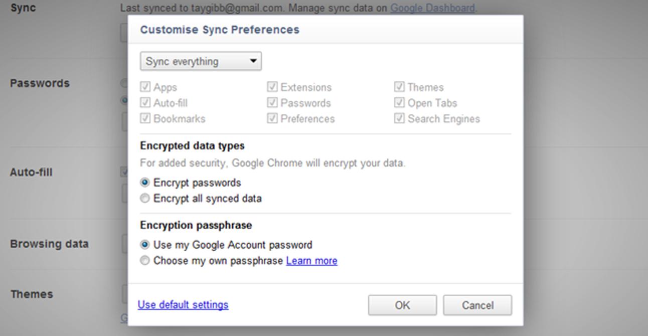 So synchronisieren Sie geöffnete Tabs auf mehreren Computern mit Google Chrome