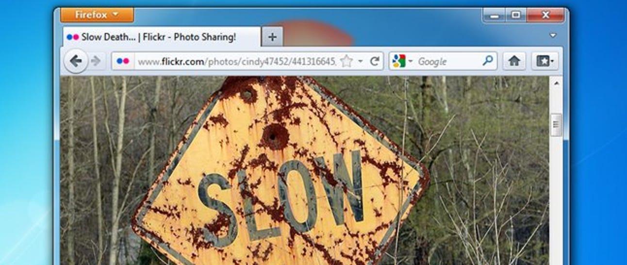 Browser langsam?  So machen Sie Mozilla Firefox wieder schnell