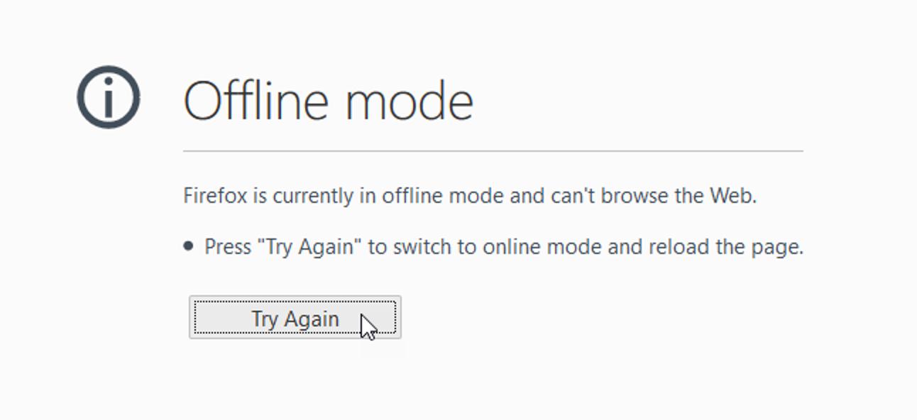 So aktivieren Sie das Offline-Browsen in Firefox