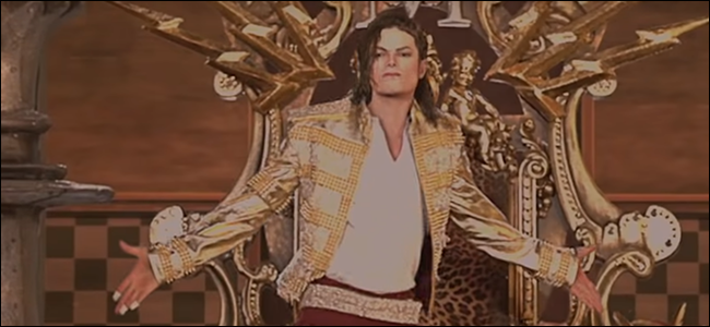 Ein Foto von Michael Jacksons Hologramm bei den Billboard Music Awards.