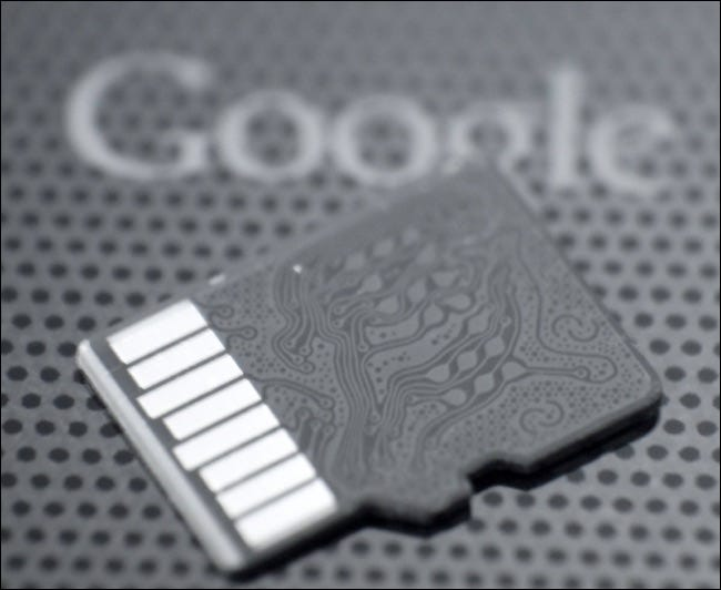 microsd karte und android handy