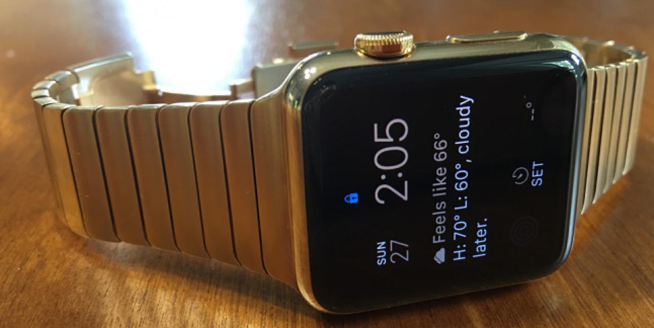 Ich habe meine Apple Watch vergoldet und Folgendes ist passiert