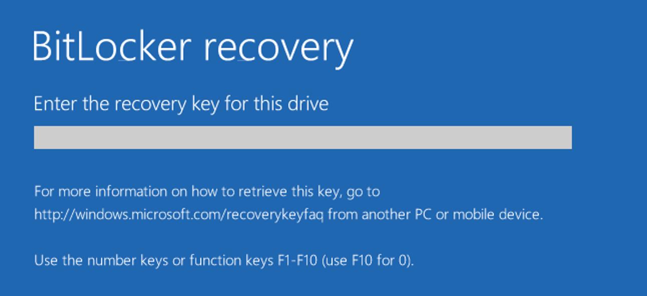 So stellen Sie Ihre Dateien von einem mit BitLocker verschlüsselten Laufwerk wieder her