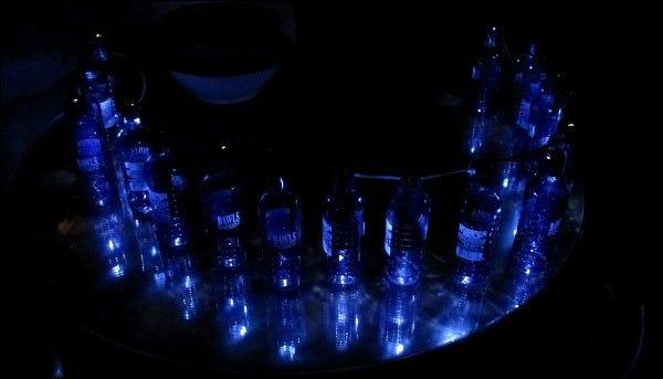10 fertige Lichter aus
