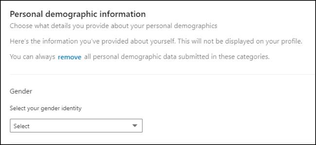 Persönliche LinkedIn-Daten