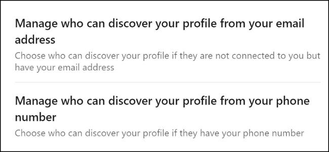 LinkedIn E-Mail-Erkennung