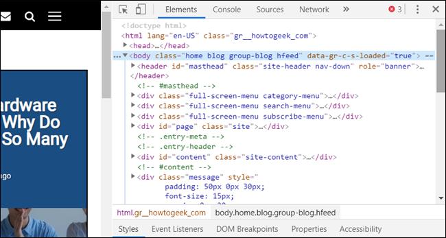 Entwicklertools wird als angedockter Bereich in Chrome geöffnet
