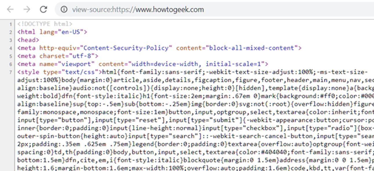 So zeigen Sie die HTML-Quelle in Google Chrome an
