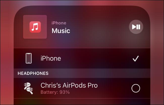 Verbinden von AirPods mit einem iPhone.