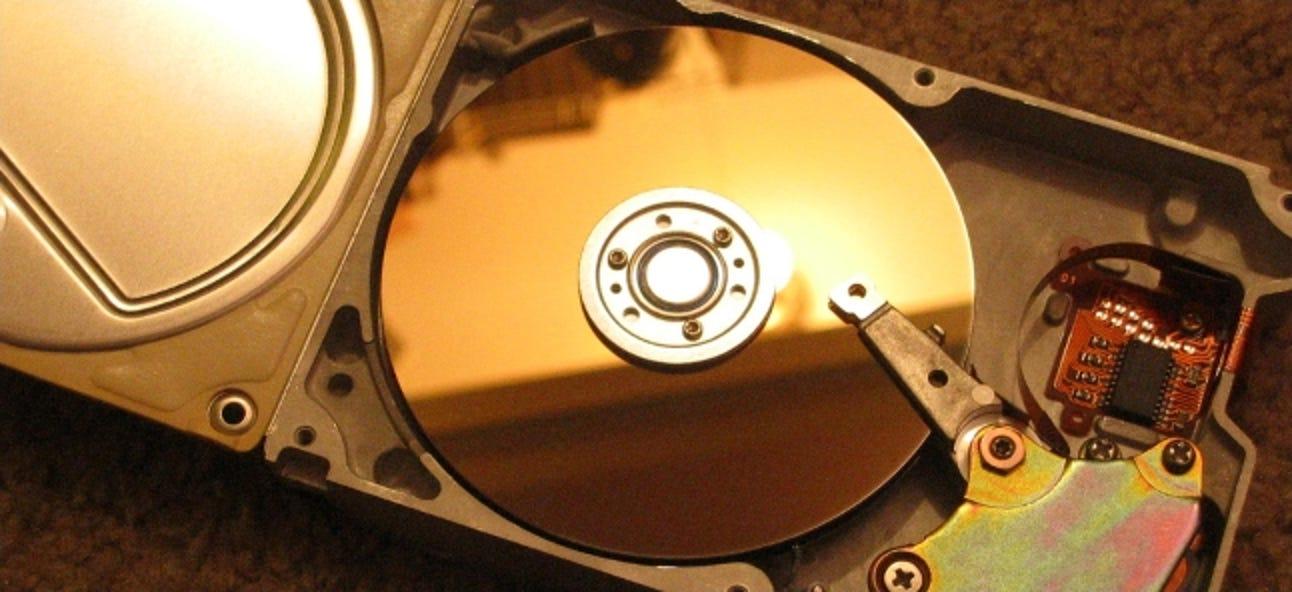 Was ist eine Bare- oder OEM-Festplatte?
