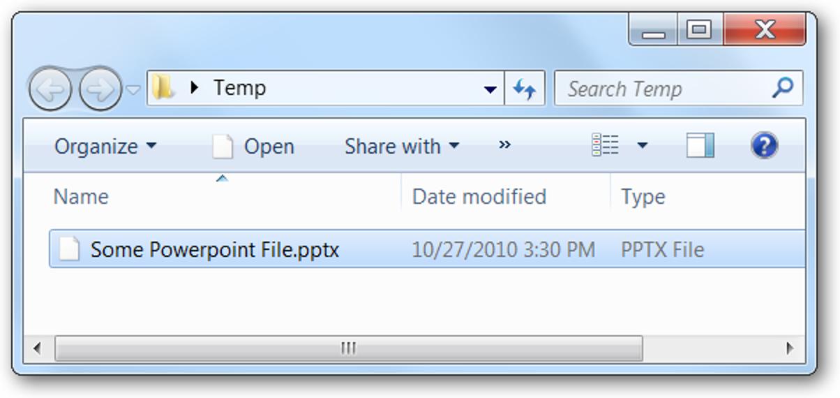 So zeigen Sie Bilder in PPTX-, DOCX- oder XLSX-Dateien an, ohne dass Office installiert ist