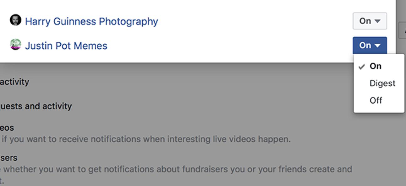 So verhindern Sie, dass die Benachrichtigungen Ihrer Facebook-Seite Ihr persönliches Profil aufblähen