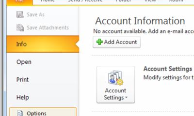 Automatisches Senden und Empfangen in Microsoft Outlook planen